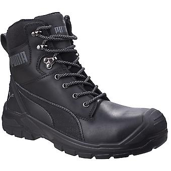 Puma Safety Mens Conquest 630730 Leather High Safety Boots