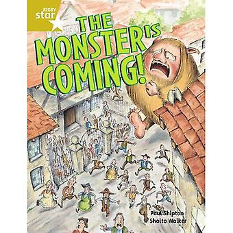 The Monster is Coming: Pupil Book Guided 2 (Rigby Star)