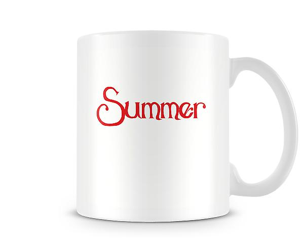 Decorative Summer Season Mug