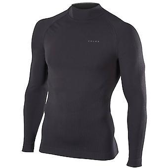 Falke-Impuls-Ski-Langarm-Shirt - schwarz