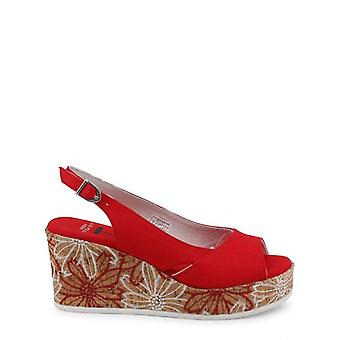 U.S. Polo Women Red Wedges -- DONE489520