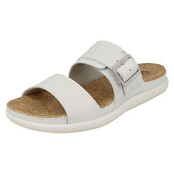 Ladies Clarks Cloudsteppers Mule Sandals Step June Tide