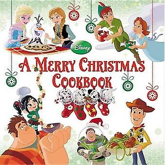 A Merry Christmas Cookbook by Cristina Garces - Disney Storybook Art
