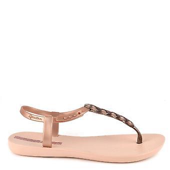 Ipanema Charm Blush Braid Rubber Sandal