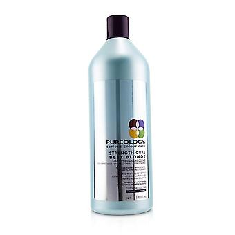 Pureology Strength Cure Best Blonde Shampoo (toning And Anti-brassiness For Colour-treated Hair) - 1000ml/34oz