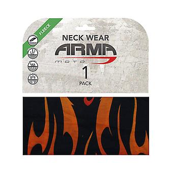 ARMR Moto Flame Winter Motorcycle Neck Warmer