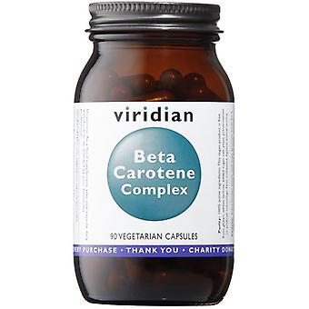 Viridian Beta carotene (Mixed carotenoid complex) 15mg Veg Caps 90 (122)