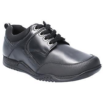 Hush Puppies Boys Dexter Senior Leather Lace Up School Shoes