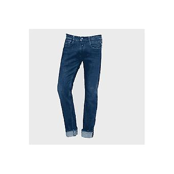 Replay Men's Straight Tapered Blue Rob Jeans