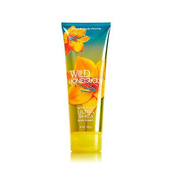 Bath & Body Works Wild Honetsuckle Ultra Shea Body Cream 8 oz / 226 g