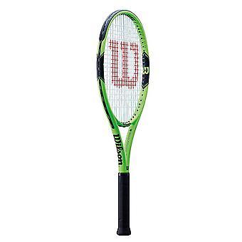 Wilson Milos 100 tennis racket Racquet grønn