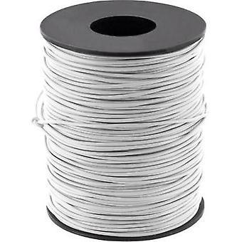 Jumper wire 1 x 0.2 mm² Grey BELI-BECO D 105/100 grigio 100 m