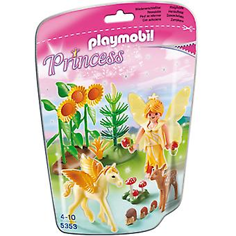 Playmobil Herbst-Fee mit Baby Pegaso