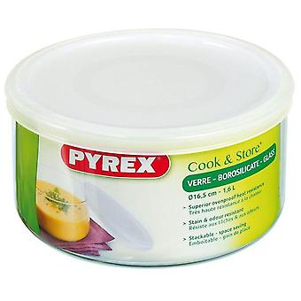 Pyrex Round Container With Cover Cm 16 1.6 153