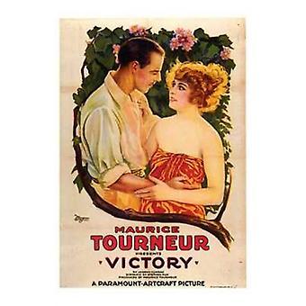 Poster di film di vittoria (11 x 17)
