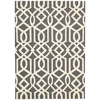 Linear Rugs Lin05 In Grey And Ivory