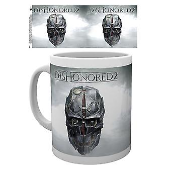 Dishonored 2 kubek Keyart