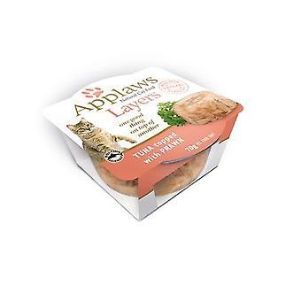 Applaws kat lag tun med rejer 70g (pakke med 12)