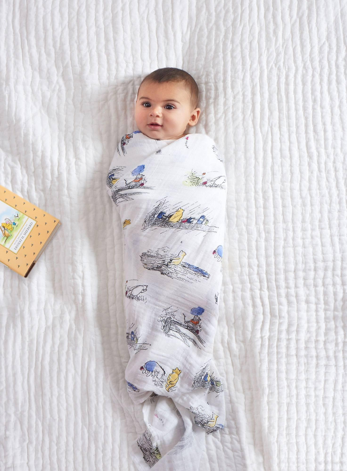 Aden + Anais Disney Baby Classic Swaddles 4 Pack - Winnie the Pooh
