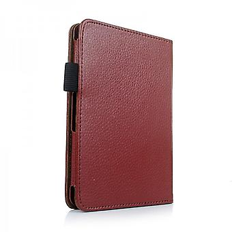 Cover art leather bag Brown for 6 Amazon Kindle version 2014