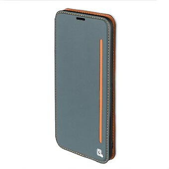 4smarts flip Pocket TWO TONE for Samsung Galaxy S8 + G955 G955F sleeve case pouch blaugrau orange