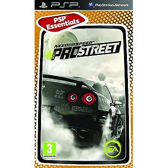Behovet for Speed Pro Street Essentials Edition Sony PSP spil
