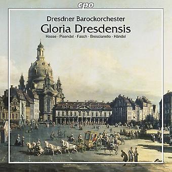 Brescianello/Pisendel/Hasse/Fasch/Caldera - Gloria Dresdensis [CD] USA import