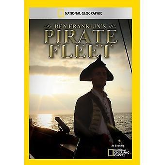 Ben Franklin's Pirate Fleet [DVD] USA import
