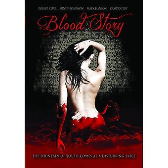 Blod historie [DVD] USA importerer
