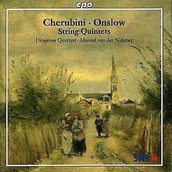 Onslow/Cherubini - Cherubini, Onslow: String Quartets [CD] USA import