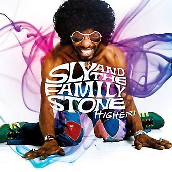 Sly & familjen stenen - högre! Bästa av rutan [CD] USA import