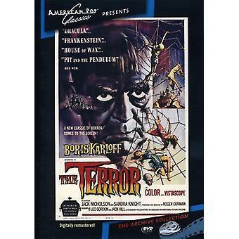 Terror (1963) [DVD] USA importerer