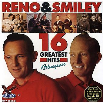 Reno & Smiley - 16 Greatest Hits [CD] USA import
