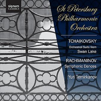 Tchaikovsky/Rachmaninov - Tchaikovsky: Orchestral Suite From Swan Lake; Rachmaninov: Symphonic Dances [CD] USA import