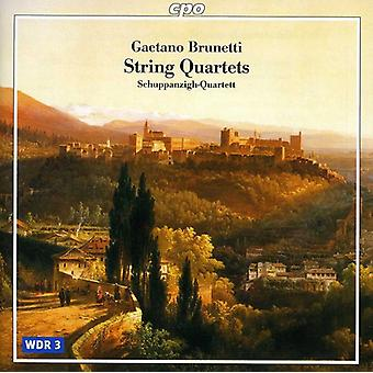 G. Brunetti - Gaetano Brunetti: String Quartets [CD] USA import