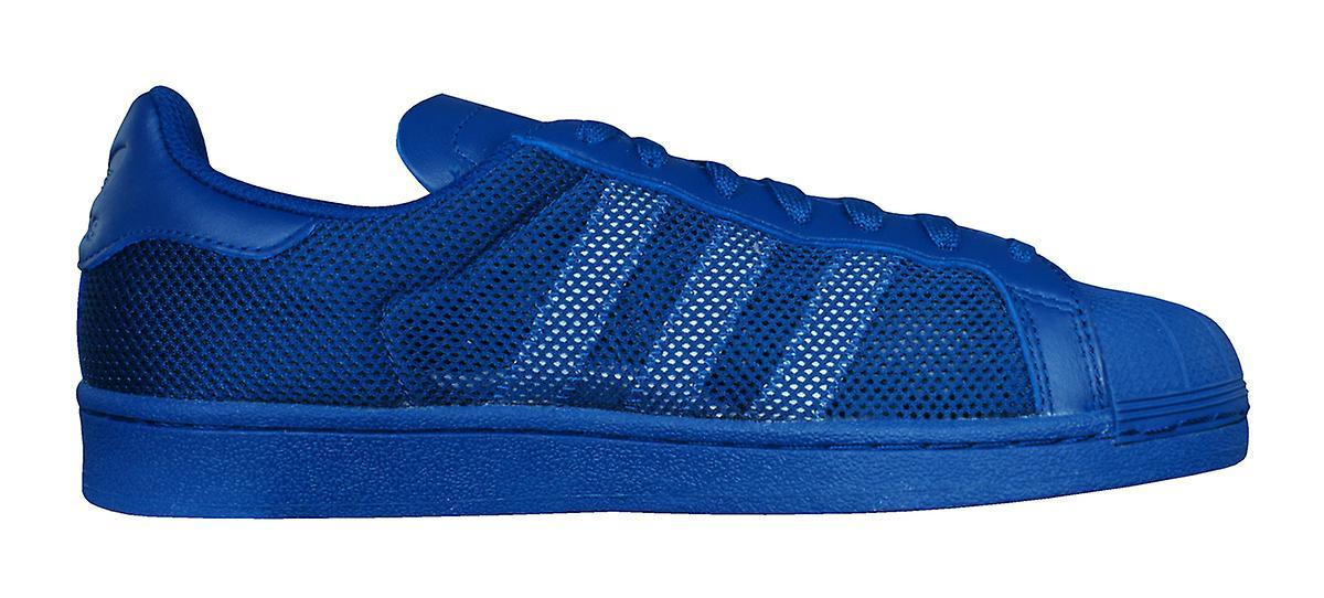 adidas Originals Superstar Triple Mens Trainers / Shoes - Blue