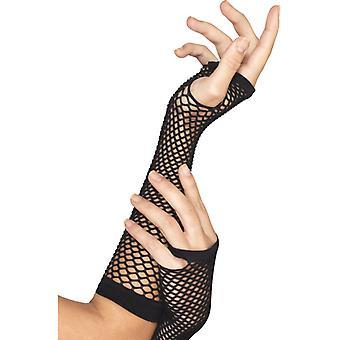Handschuh Netzhandschuh schwarz 80er Jahre Punk