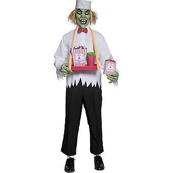 Zombie horror popcorn leverandør Halloween kostyme