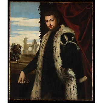 Paolo Veronese - Portrait of a Man Poster Print Giclee