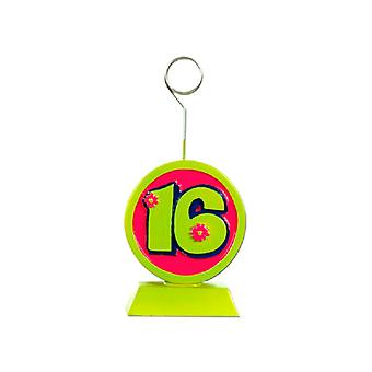 Ballong/Foto Holder Sweet 16