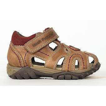 Hush Puppies Ivan Boys Closed Toe Sandal Brown