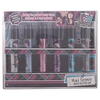 Monster High Mad Science Glitter Lab Set (Niños , Maquillaje infantil)