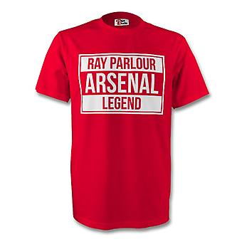 Ray Parlour Arsenal Legend Tee (red)