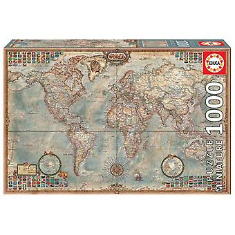 Educa Puzzle The World 1000 Pieces (Spielzeuge , Brettspiele , Puzzles)