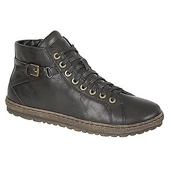 Boulevard Womens/Ladies Lace Up Zip Fasten Ankle Boots