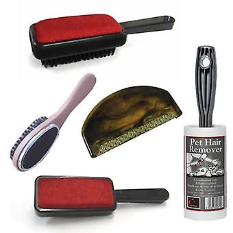 Caraselle Brush Pack inc Lint Roller & Sweater Comb