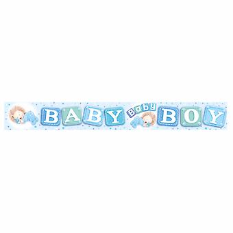 Expression Factory Baby Shower Holographic Foil Banner
