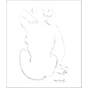 أسود رسم-طباعة الملصقات ملصق هنري ماتيس
