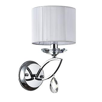 Maytoni Lighting Miraggio Modern Collection Sconce, Chrome