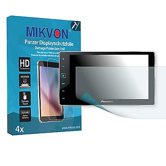 Pioneer SPH-DA120 (AppRadio 4) Screen Protector - Mikvon Armor Screen Protector (Retail Package with accessories)